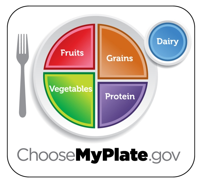 My Plate Graphic from choosemyplate.gov