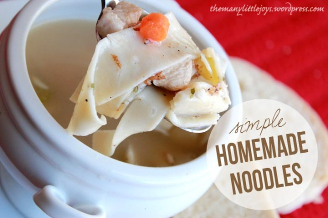 Homemade Noodles Soup Cover 2 (720 X 480)