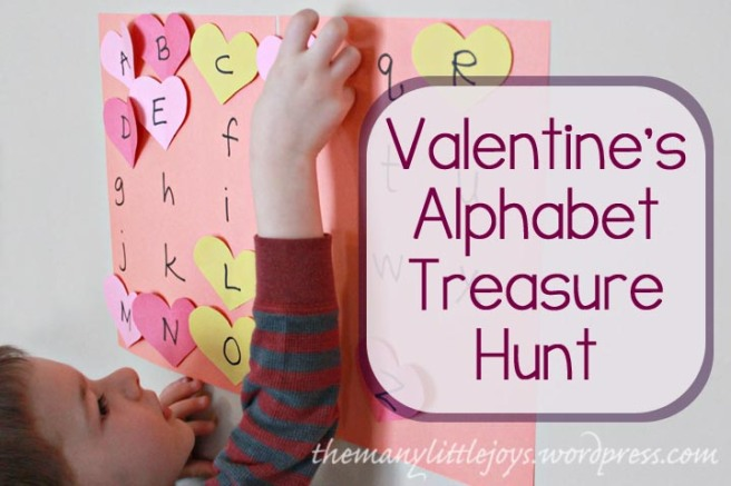 Valentine's Alphabet Hunt Cover